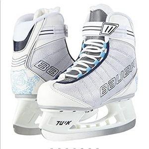 Bauer flow recreational hockey ice skates size 6